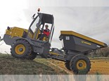 Uromac Lacertis site dumpers feature rotating seat and controls