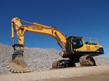 Boulder Wall Construction's Hyundai R520LC-9 excavator