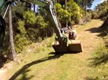 Video: Angry ram vs excavator