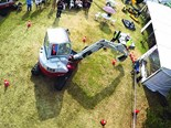 The action from last year's excavator challenge
