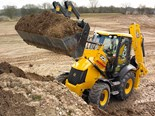 JCB's backhoes, like this 3CX, are getting Tier 4 engines