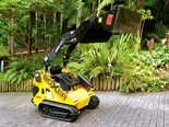 The Boxer 525DX compact track loader with its well-constructed Norm Engineering bucket