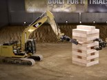 Video: Caterpillar Jenga