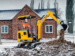 JCB unveils first electric mini excavator