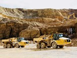 Cat redesigns three articulated haul trucks