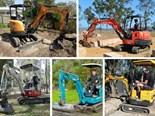 Five of the hottest mini excavators