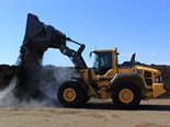 First Volvo L110H wheel loader delivered