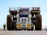 World's second-biggest mining trucks arrive in Queensland