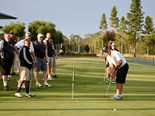 Golf day supports cancer research foundation