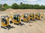 Cat launches new series of mini excavators