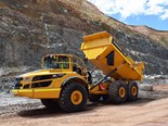 Australian gold mine using Volvo CE A45G haulers