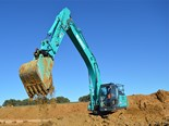 The operational performance and fuel savings that James Riley and his team saw in their year-old 20-tonne Kobelco excavator made them return to the brand for their latest 35-tonne model – the SK350LC-10.
