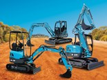 Huski mini excavator range launched