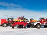 The Antarctica2 expedition team. Image: AGCO
