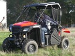 Honda 500 Pioneer UTV review