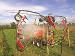 Silvan updates vineyard sprayer with powerful fan system