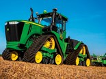 John Deere goes on four tracks