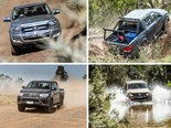 Ute Shootout part 2: Toyota Hilux vs Ford Ranger vs Volkswagen Amarok vs Mazda BT-50