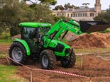 The Deutz Fahr 5105.4G tractor is a worthy contender in the 2016 Top Tractor Shootout.