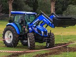 The New Holland TD5.90 tractor had the least horsepower of the 2016 Top Tractor Shootout bunch, but proved itself in the manoeuvrability and speed stakes.