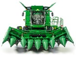 Foldable John Deere 608FC corn head saves harvest time