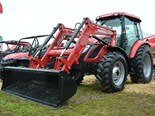 Mahindra shows off mForce 100P tractor at Elmore