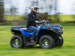 The CFMoto X500 Farm Spec ATV responds exceptionally well to a bit of encouragement on the throttle