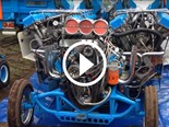Video: Ridiculous 4000hp tractor