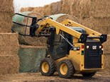 Cat brings out Bale Grab for skid steer loaders