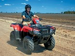 Honda TRX500 FA6 ATV review