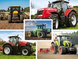 Five big, beefy tractors