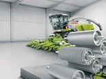 Claas Jaguar wins the Machine of the Year award at SIMA