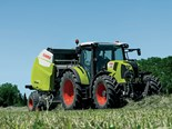 The Claas 485 RC PRO baler is awarded the DLG quality mark