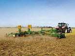 The Kelly Diamond Harrow did an exceptional job chopping up and combining standing brassica stubble with the soil