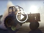 Video: Tractor drifting!