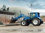 New Holland T6 Methane Power tractor prototype