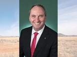 Barnaby backs farmers at FAO
