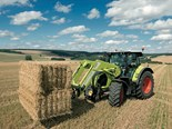 Claas Arion 600/500 tractor on its way
