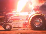 Video of insane tractor pulling in Italy 2017