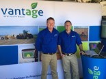 Andrew Cory (left) and general manager Mick Casey (right), from Vantage New South Wales.
