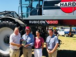 Hardi Rubicon 6500 sprayer wins best new release award