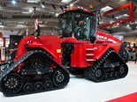 The new 613hp Case IH Quadtrac 540 CVX tractor