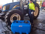 The Selecta Blue range from Silvan Australia for pumping, handling and dispensing the AUS32 Aqueous Urea