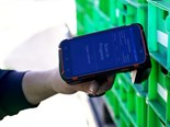 AgPick's hand-held scanner in action during the strawberry harvest at Piñata Farms, Stanthorpe, Queensland