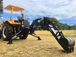 The Emu backhoe