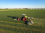 Claas smash world mowing record by 40 hectares