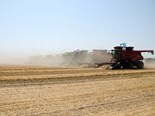 Canadians set new world record for most combines working in one field
