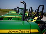 tractor sales were down 18 per cent across the board after a year of strong sales