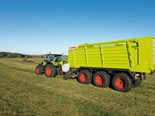 Spring chassis upgrade for Claas wagon