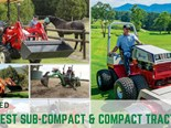 Best sub-compact and compact tractors